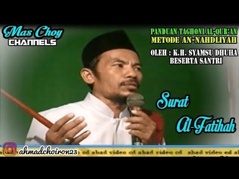 Surat Al-Fatihah   Panduan Taghoni Al-Qur'an Metode An-Nahdliyah