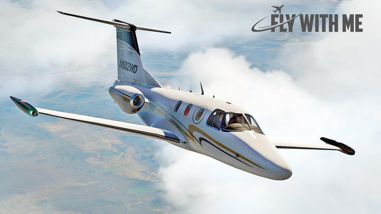 X-Plane 11 - Aerobask Eclipse 550