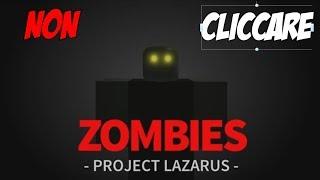 """PREMIERE """"Zombie-Projekt Lazarus"""" - COD VON POVERI - ROBLOX -"""