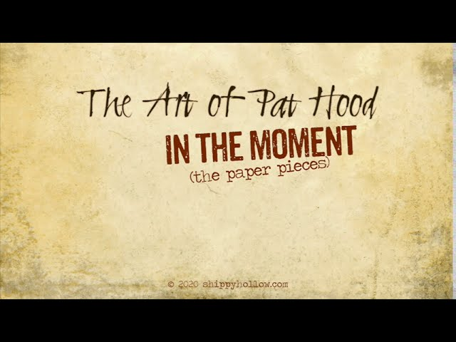 Pat Hood - In the Moment