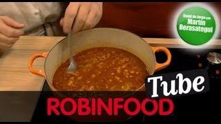 ROBINFOOD / Sopa de ajo + Sangría de cava