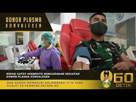RSPAD Gatot Soebroto Mengadakan Kegiatan Donor Plasma Konvalesen Gelombang 11-12