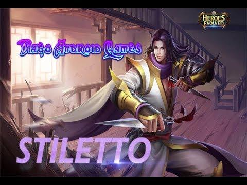 Heroes Evolved - Stiletto (Adc brabo)