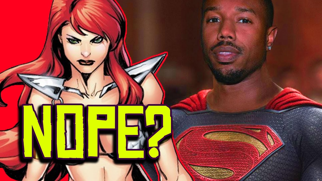 Red Sonja Not a REDHEAD?! Black Superman is Clark Kent CONFIRMED!