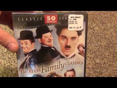 50 Movie Collection Timeless Family Classics DVD Unboxing