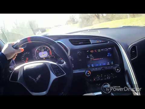#Corvette #C7 Steering Wheel Replacement #CarbonFiber #DIY Custom Corvette Carbon Fiber