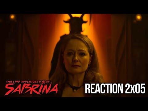 CHILLING ADVENTURES OF SABRINA REACTION PART 2 EPISODE 5