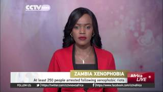 Two burned alive in Zambia anti-foreigner riots