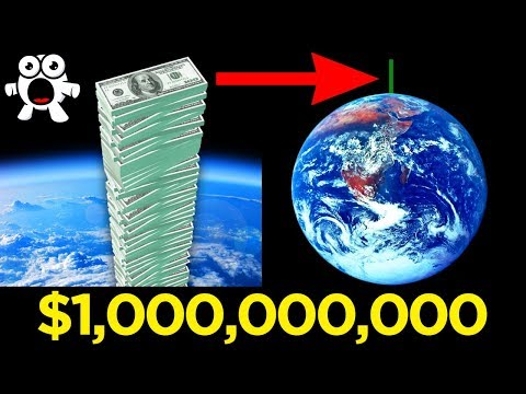 Visualising Just How Much A Billion Dollars Is