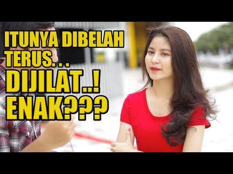 Aw!! Di BELAH Jadi Apa Ya?   SOSIAL EKSPERIMEN INDONESIA