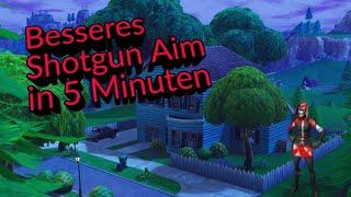 Better Shotgun Aim in 5 minutes ?! [Fortnite Mobile]