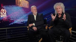 Bohemian Rhapsody: Queen's Drummer Roger Taylor & Guitarist Brian May Interview