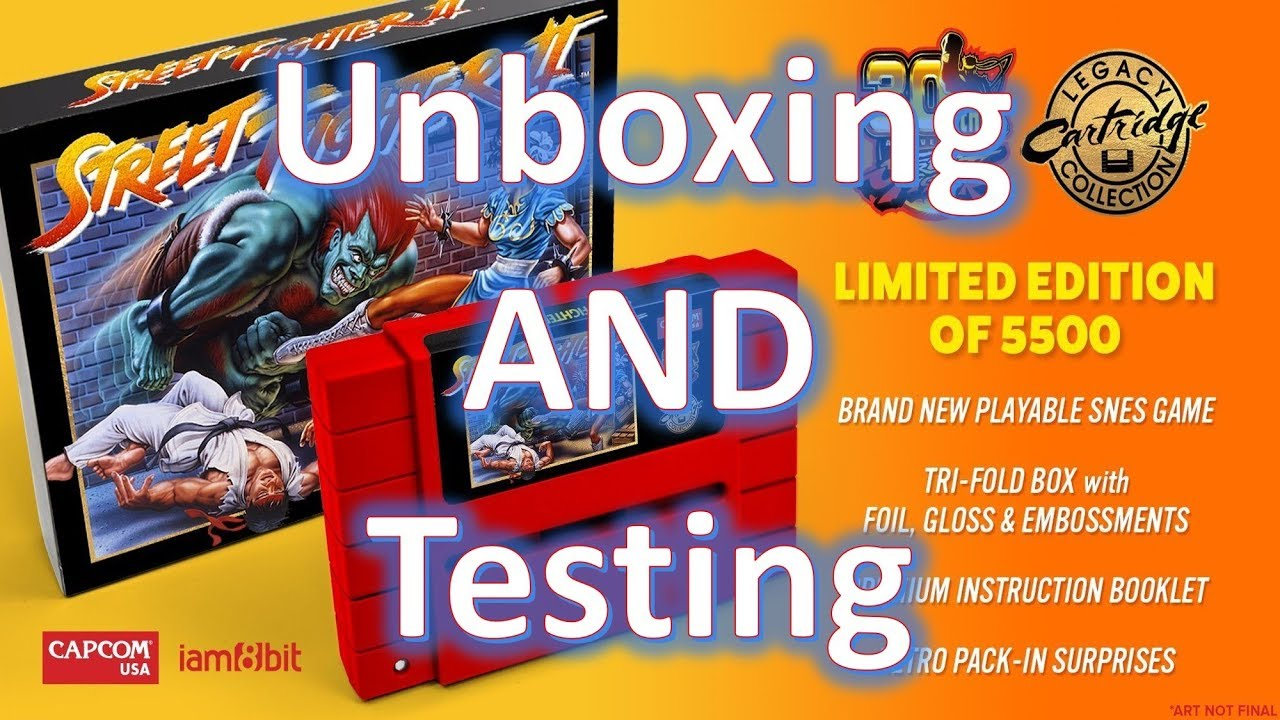 Iam8bit Snes Street Fighter Ii 30th Anniversary Edition