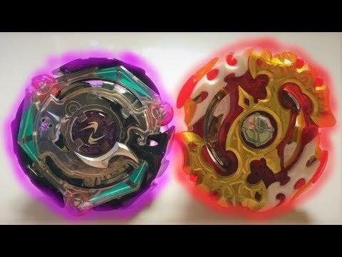 Spryzen Requiem S3 0 Zeta vs Satomb S3 2Glaive Loop : Beyblade Burst Evolution