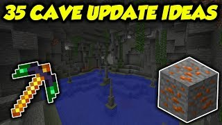 35 Different Ways Minecraft Could Update Caves