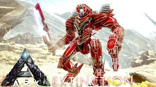 ARK: EXTINCTION DLC - NEW CREATURES & MEK ARMOR 1st IMPRESSIONS   GAMEPLAY ARK SURVIVAL EVOLVED