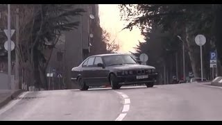 Last Ilegal Street Drift - BMW M5 E34 Reckless Driving by Giorgi Tevzadze Needfordrive.com