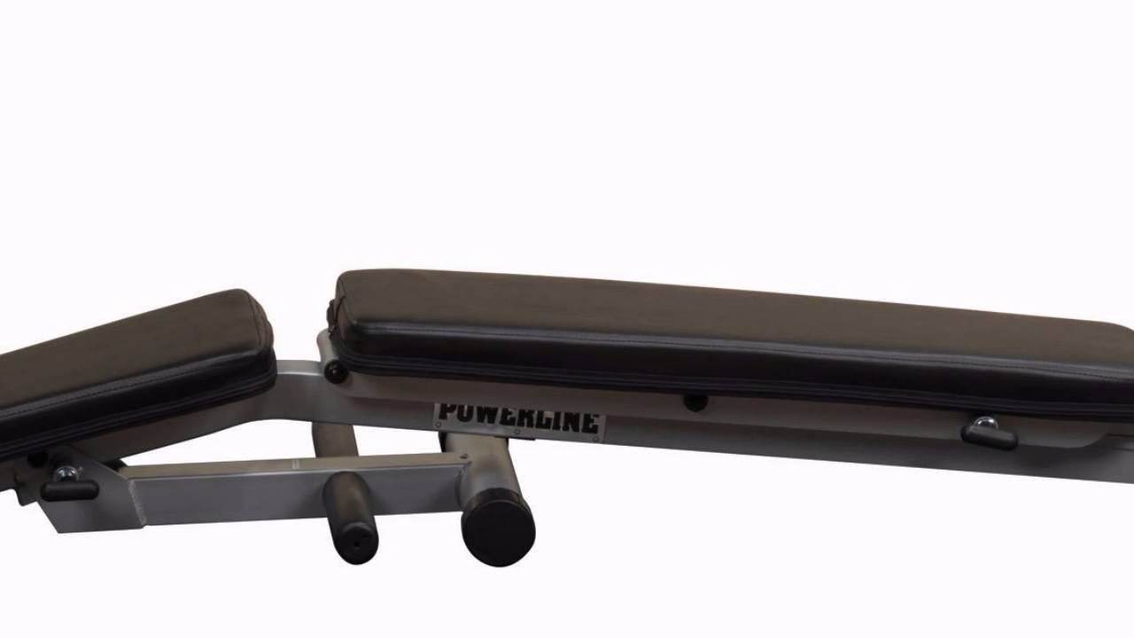 Best Price Free Shipping Body Solid Powerline Flat Incline