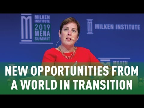 New Opportunities From a World in Transition