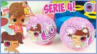 LOL Surprise!!! LIL sisters series 4!!! Diversión en la piscina.