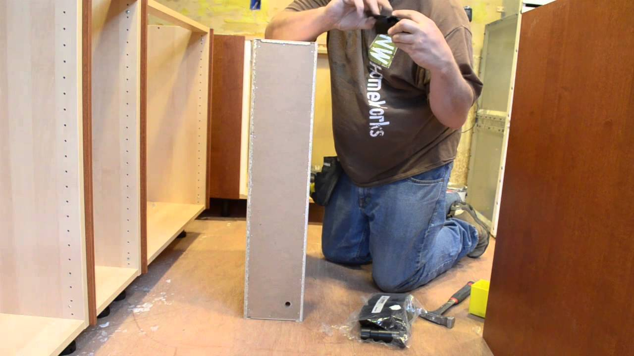 Ikea Hack How To Make A 6 Ikea Cabinet With Door Youtube