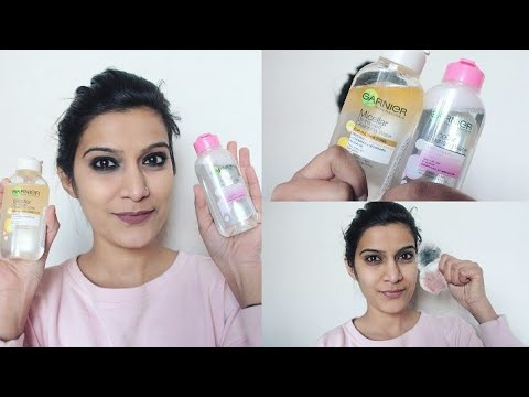 😱Only 1 Swipe For Removing Makeup?? | *New*Garnier Micellar Water Review & Demo | SuperStyleTips