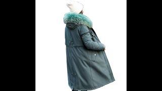 Новое поступление куртки и пальто длинная женская парка с искусственным мехом на зиму 30 градусов