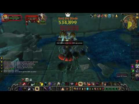World Of Warcraft How To get potion Ancient Knowledge 300% xp (unedited)