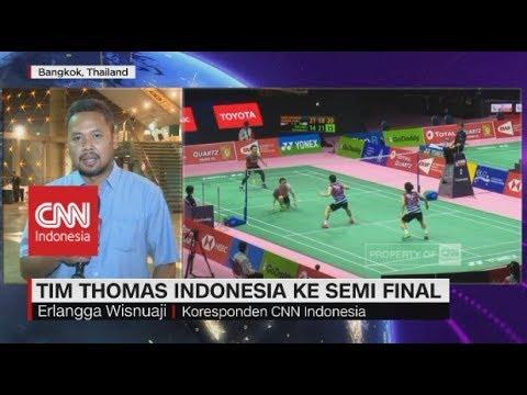 Tumbangkan Malaysia, Tim Thomas Indonesia Melaju ke Semifinal - LIVE REPORT