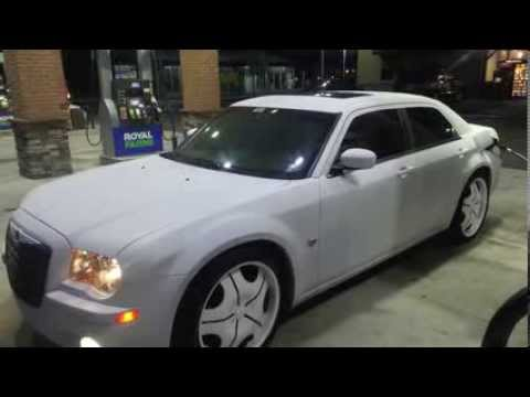 Plastic Dip Matte White Chrysler 300c Ocaine Youtube