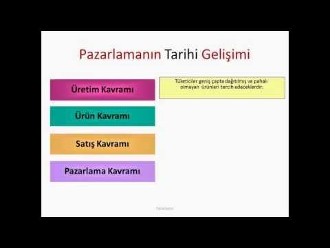 Pazarlama Erzincan Webinar - Professor Levent Bağıcı - Koç University