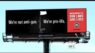 New Billboards Praising Massachusetts Gun Laws Taken Down