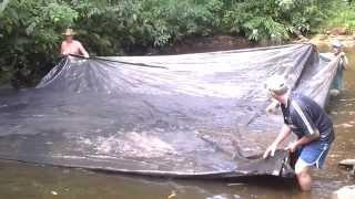 Pescando com Lona
