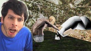 NO CREERÁS LO QUE HIZO EL ABUELO CON GRANNY !! OMG - Granny: Capítulo 2 (Animación)