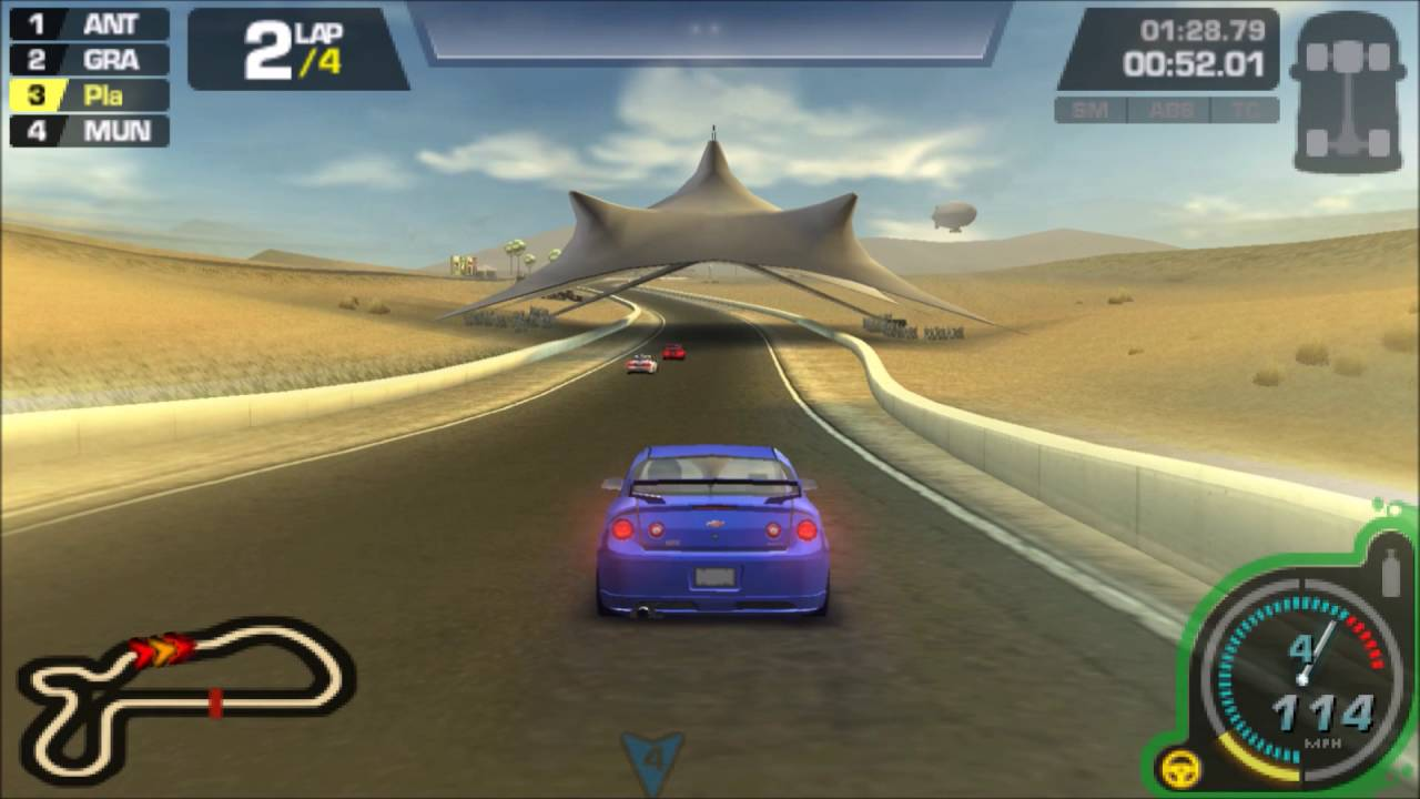 6c1ce0c52 Need for Speed: ProStreet PSP Gameplay HD - YouTube