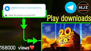 How to play downloded viedos in telegram 🤔