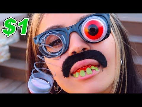 TRYING DOLLAR STORE HALLOWEEN COSTUMES | Tarayummy