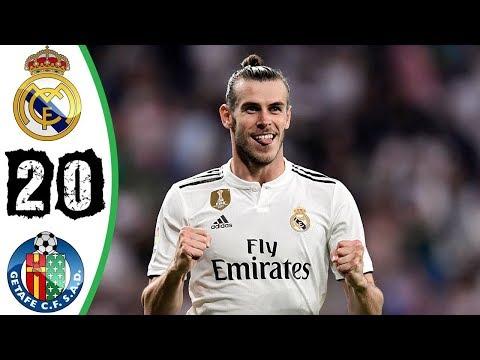 Real Madrid 2-0 Getafe | All Goals | COPE | Liga 2018