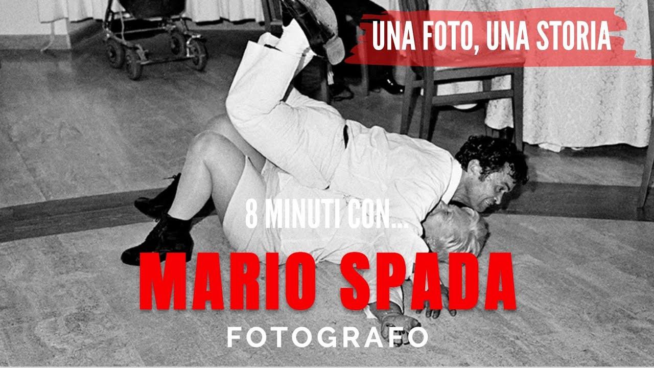 8 minuti con MARIO SPADA fotografo
