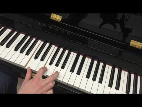 Piano Blues Licks In C