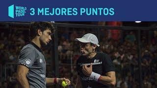 Los tres mejores puntos del Buenos Aires Padel Master 2019