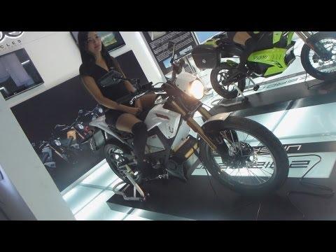 Zero XU Electric Motorcycle 2013 Auto Show Salón Automóvil Bogota 2012 FULL HD