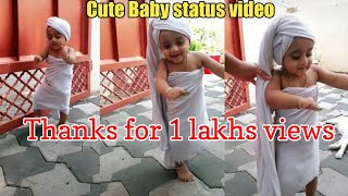 Cute baby whatsapp status video