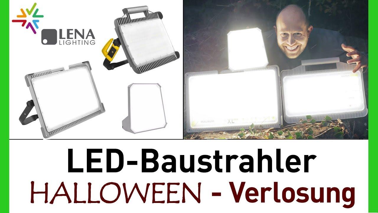 LED-Baustrahler Halloween Verlosung