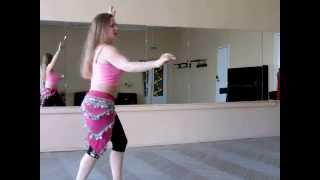 """Шаг """"Коняшка"""" Как делать? Урок восточного танца"""