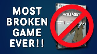 MOST BROKEN GAME EVER!! (Puzzle Agent)