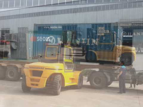 10Ton Rated Capacity Diesel Forklift Use in UAE
