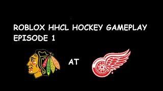 ROBLOX HHCL Hockey Gameplay - Episode 1