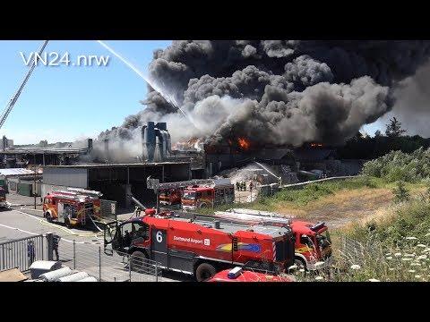 30.06.2018 - VN24 - 'Flashover' Bei Großbrand Verursacht Millionenschaden In Bönen