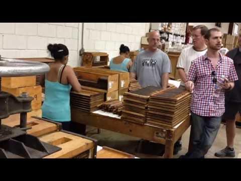 Preparing Cigars for Box Pressing